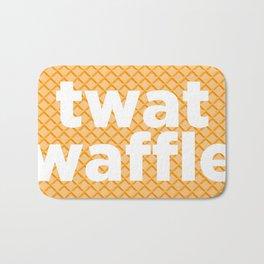 twat waffle Bath Mat