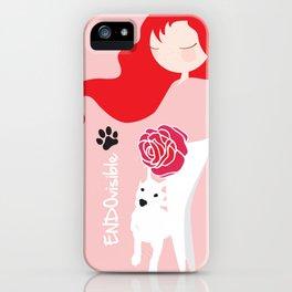 ENDOvisible - Custom Endo Design with Doggie iPhone Case
