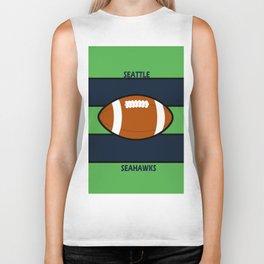 Seahawks Fans, Seattle Football Biker Tank