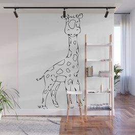 Safari Set - Giraffe Wall Mural