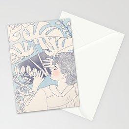 Tropical Houseplant Dream Stationery Cards
