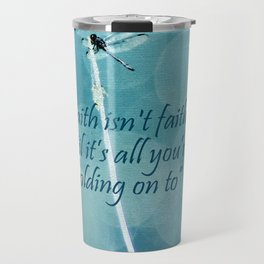 Holding On Travel Mug