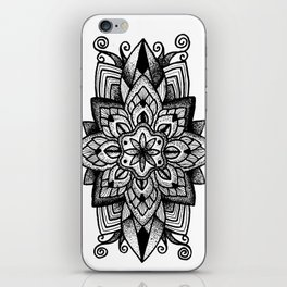 Mandala Curley iPhone Skin
