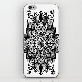 Mandala Curley iPhone Skin