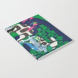 Mews in Rio de Janeiro (Typography) Notebook