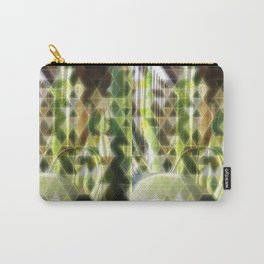 Cactus Garden Art Triangles 2 Carry-All Pouch