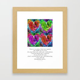 Romantic Art - Completely Yours - By Sharon Cummings Framed Art Print