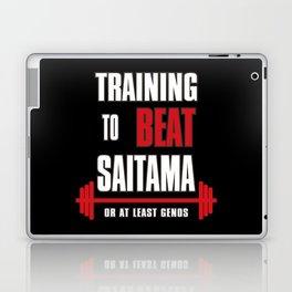 Training to beat saitama Laptop & iPad Skin