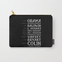Black History Month BLM Obama Gift Carry-All Pouch