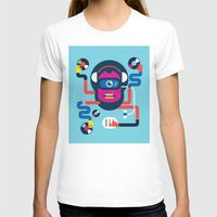 dj T-shirts featuring DJ by Katboy 7