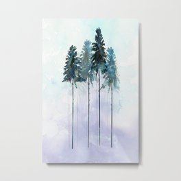 Siberian Forest 2 Metal Print