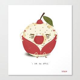 Apple Donut Canvas Print
