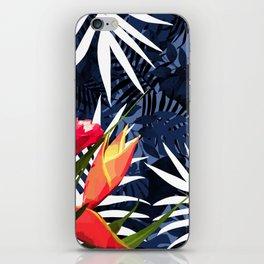 Bold Tropical Paradise Design iPhone Skin