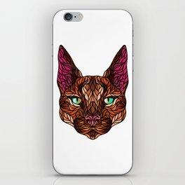 CARACAL WILD CAT iPhone Skin