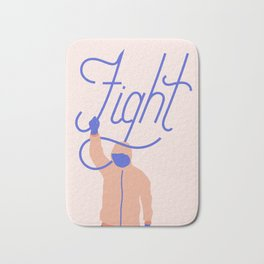 Fight Bath Mat