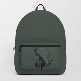 Spirit of the wolf Backpack