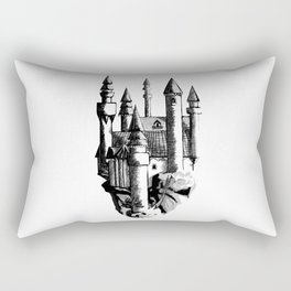 Sky Castle Rectangular Pillow