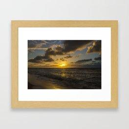Golden Sunrise by Teresa Thompson Framed Art Print