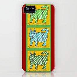 Cat, Cat, cat iPhone Case