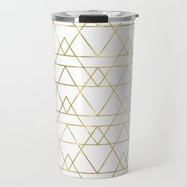 Modern Gold Travel Mug