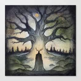 King of the Ancient Forest Canvas Print