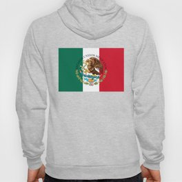 Flag of Mexico & Coat of Arms augmented scale Hoody