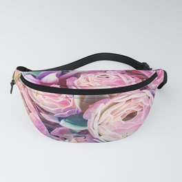 Pink Succulent, Cactus Art Print By Synplus Fanny Pack