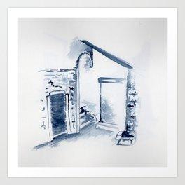 Untitled - corte sconta Art Print