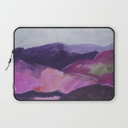 Roses Aren't Red 2 - Contemporary Abstract Landscape Laptop Sleeve