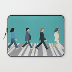 The tiny Abbey Road Laptop Sleeve
