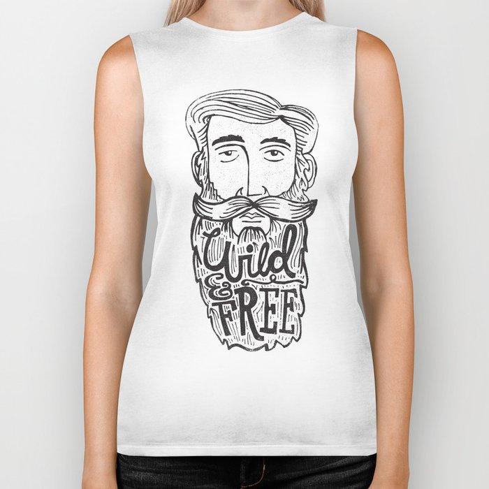 WILD MAN, FREE MAN Biker Tank