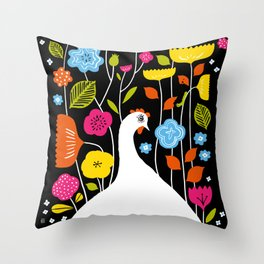 Little Edie's Eden Throw Pillow