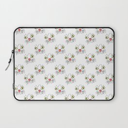 Hand Drawn Kitty Catty Face Laptop Sleeve