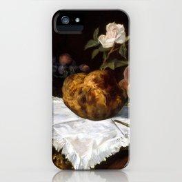 Édouard Manet The Brioche iPhone Case