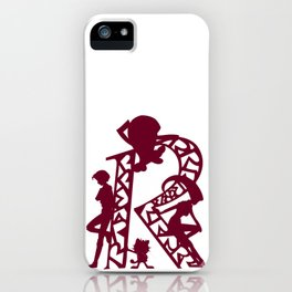 Rocket Silhouettes iPhone Case