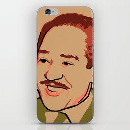 Langston Hughes iPhone Skin