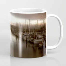 Unbalanced Half Moon Bay California Coffee Mug