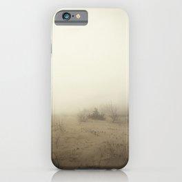 Heavy Foggy Beach iPhone Case