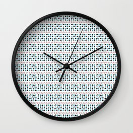 Rectangle and abstraction 3-abstraction,abstract,rectangled,geomtry,geometric Wall Clock