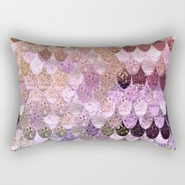 SUMMER MERMAID MOONSHINE  GOLD 2 Rectangular Pillow