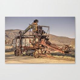 American Thresher  Canvas Print