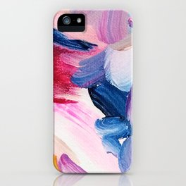 Lottie Abstract Painting iPhone Case