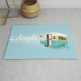 Simple Living, Camping Rug