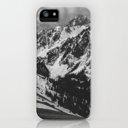 Mt. Townsend Olympic National Park Washington iPhone Case