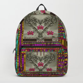 wings of love in peace and freedom Backpack