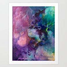 Acrylic Texture Art Print