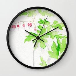 Left Dangling Wall Clock