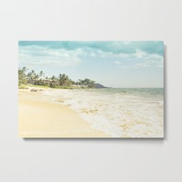 Polo Beach Maui Hawaii Metal Print