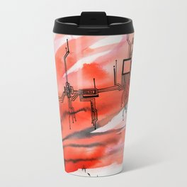 Blown Apart  Travel Mug
