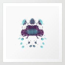 Inknograph XXII - Rorschach Art Art Print